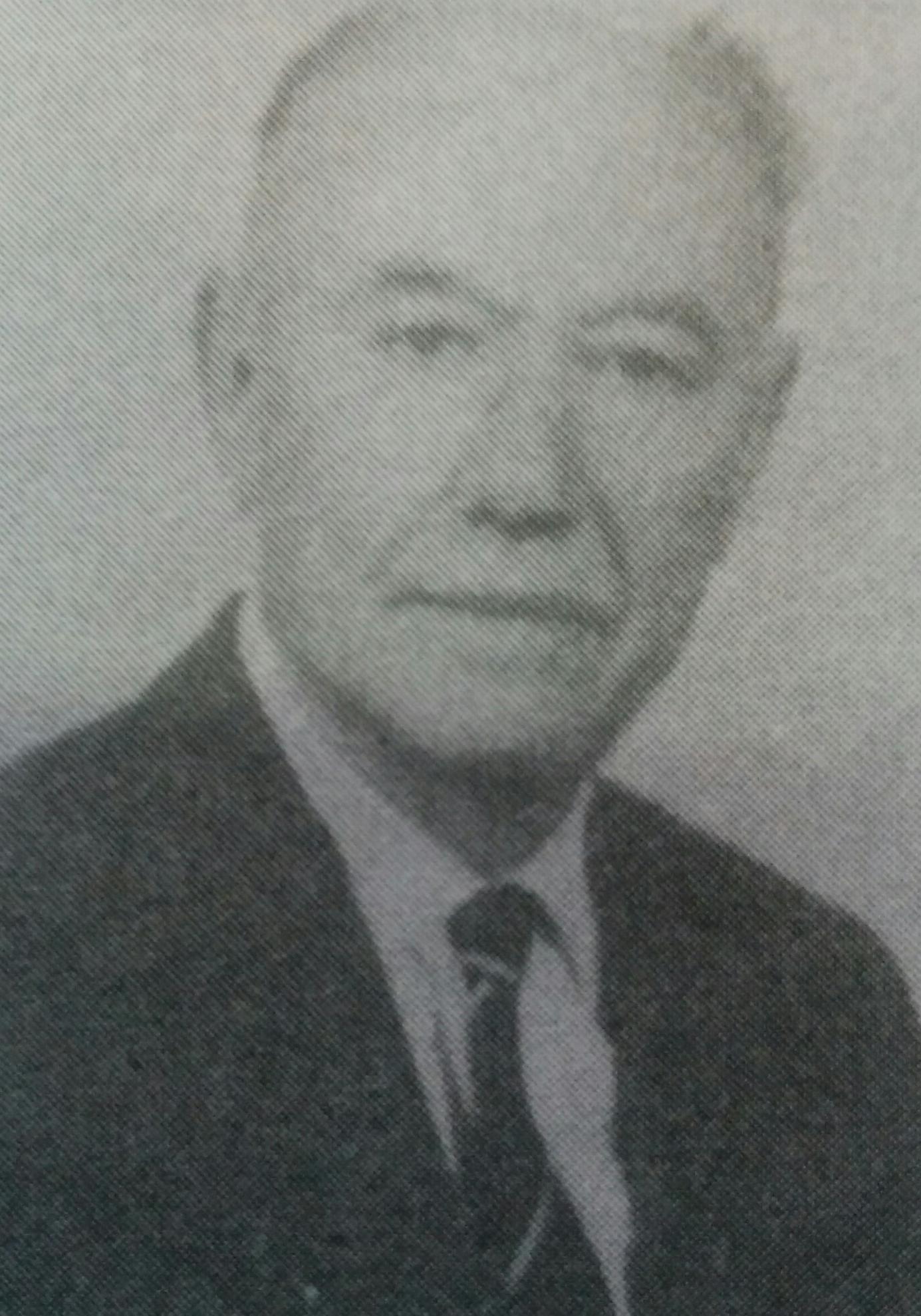 Don Argentino Natalio Ortelli (1904-1982), fundador de la tradicional y popularizada librería chivilcoyana, el 15 de septiembre de 1933.