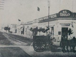 Antigua esquina, de las calles Rivadavia y Pellegrini, donde funcionó, a partir de 1968, la librería Ortelli.