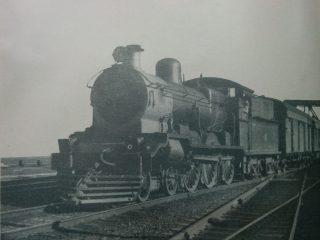 Antiguas locomotoras, en los anales de la historia ferroviaria argentina.