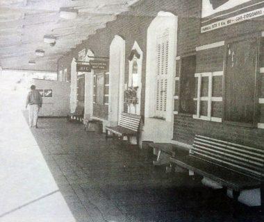La vieja Estación Sud, de Chivilcoy, inaugurada el 1 de febrero de 1910.