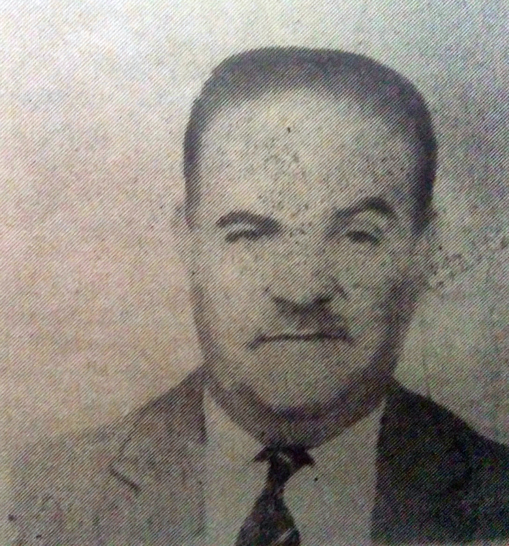 El maestro y artista plástico, Don Tomás Héctor Casullo (1914-1970).