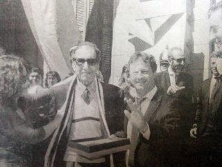 Rubén O. Lago, declarado «Ciudadano Ilustre», de Chivilcoy, el 22 de octubre de 2015, bajo la gestión del profesor Dario Speranza.