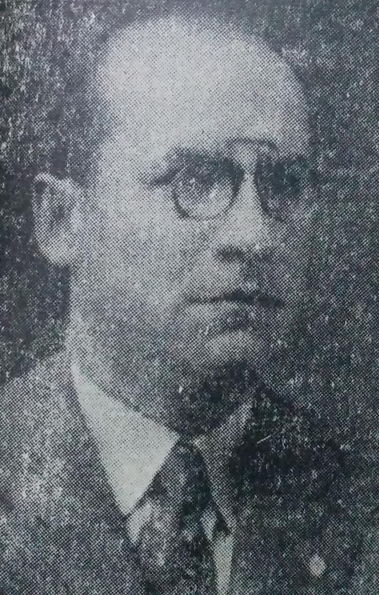 El poeta, escritor y docente, profesor José María Gallo Mendoza. Nacido en Salta, en 1897, falleció en su ciudad natal, en 1964.