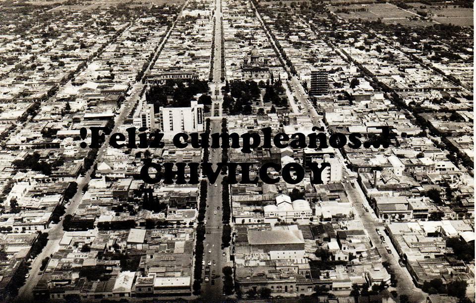 Imagen panorámica de la ciudad de Chivilcoy (Gentileza del conocido fotógrafo y periodista local, Osvaldo A. Benítez).