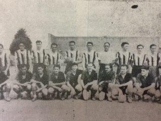 iEl equipo de Colón, en 1945.