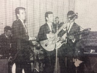 Ricardo Nelson y «Los Platinos», en los encuentros musicales y bailables del Club Colón.
