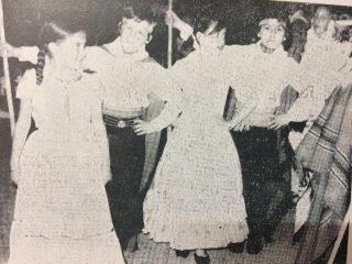 La Peña Folklórica «Pampa Huasí», fundada en 1972, por la profesora Norma Cesario.