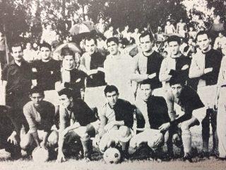 Colón Campeón del Torneo de Fútbol local, en 1966.
