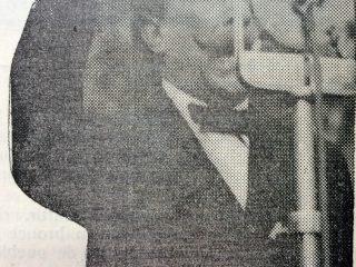 El senador nacional, Dr. Alfredo Lorenzo Palacios.