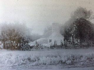 La legendaria quinta de Don Virginio Strini, donde permaneció detenido, el Gral. Bartolomé Mitre, en los priemero días del mes de diciembre de 1874.