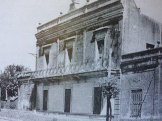 """Antiguo edificio, de una jabonería y fábrica de velas denominada """"El León"""" (Siglo XIX)."""