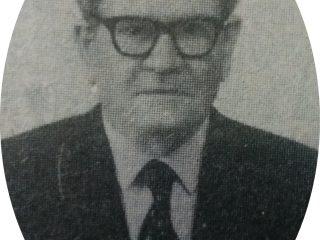 El periodista, escritor, dramaturgo y dirigente político, Don Pedro Panzardi (1895-1979), primer director de «El Despertar», en 1928.