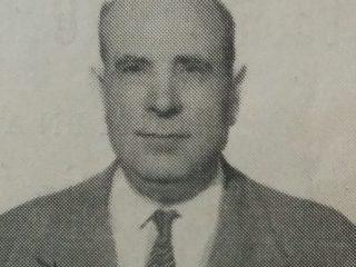 Don Manuel Antuña, padre de Héctor M. Antuña, quien fundó la tradicional imprenta chivilcoyana, el 6 de mayo de 1943.