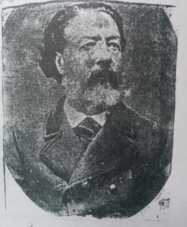 Retrato del fundador de Chivilcoy, Don Valentín Fernández Coria, nacido en Luján, el 16 de diciembre de 1821, y fallecido en Chivilcoy, el 23 de septiembre de 1897.