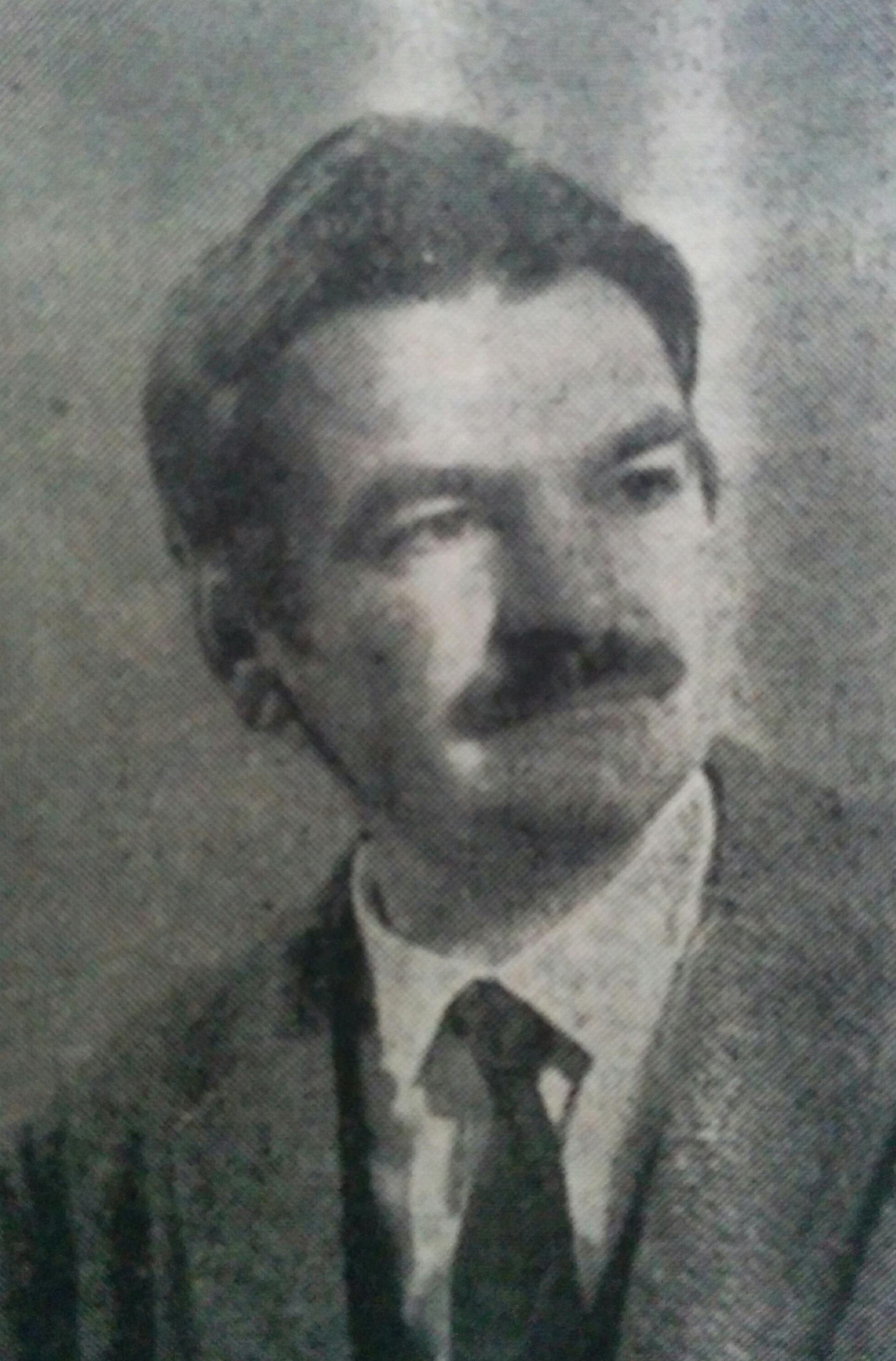 El poeta, Serafín Miguel Mastropierro, nacido el 17 de septiembre de 1927.