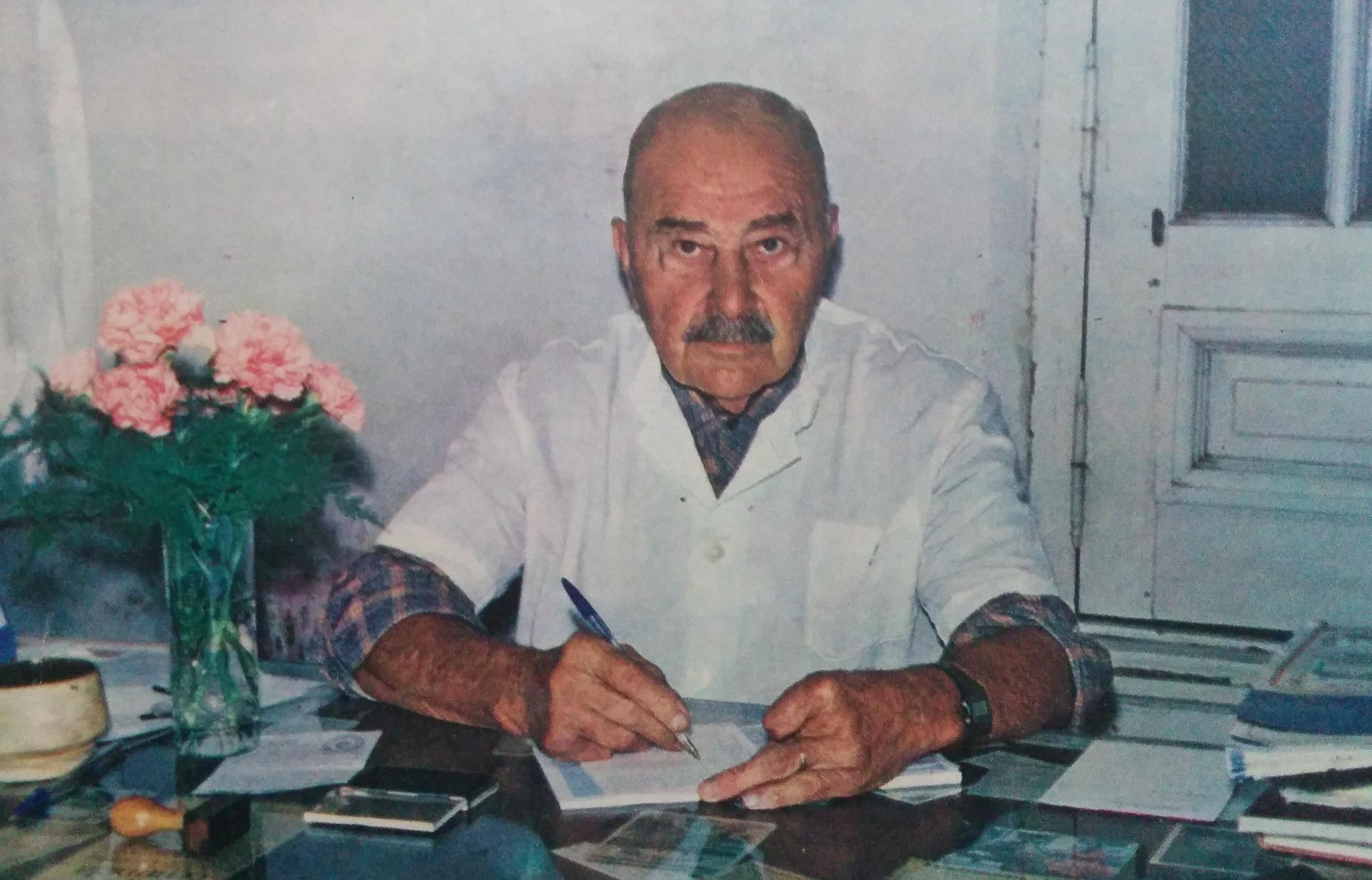 El Dr. Raúl María Gutiérrez (1909-2003).