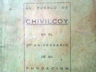Número extraordinario, del periódico «El Despertar», del 22 de octubre de 1941, con motivo de la celebración del 87 aniversario, de la fundación de nuestra ciudad de Chivilcoy.