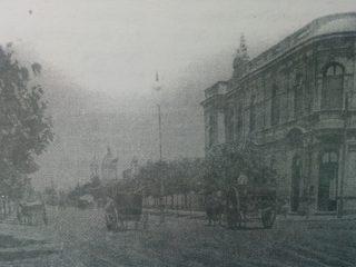 Edificio de la Asociación Española, hacia el año 1910.