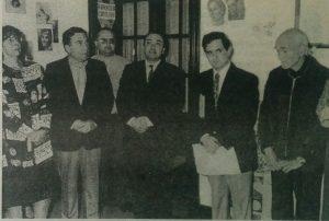 Inauguración de la sede del Archivo Literario, en la avenida Villarino Nº 28 (30 de abril de 196), gobierno municipal del Dr. Rodolgo Bardengo.