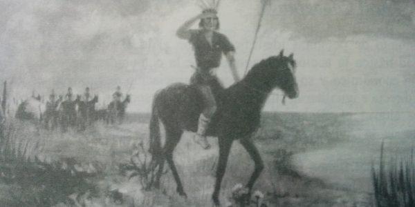 La estampa del legendario cacique Chivilco.