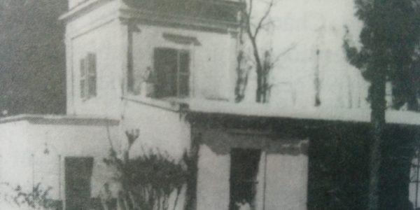 La quinta de Don Virginio Strini, donde permaneció, alojado y detenido, el Gral. Bartolomé Mitre, los primeros días de diciembre de 1874.