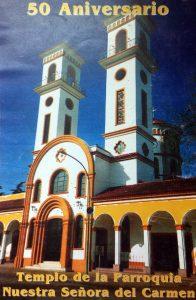 """Iglesia Nuestra Señora del Carmen, en honor a la Virgen """"Patrona espiritual de Chivilcoy"""". Se inauguró el 22 de octubre de 1949."""