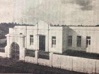 Antiguo edificio del Hospital de Cirugía «Gral. José Inocencio Arias». Allí funciona, desde 1958, el Museo «Pompeo Boggio»,