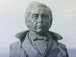 El Dr. Mariano Moreno, secretario de la Primera Junta de gobierno patrio, el 25 de mayo de 1810, y fundador y primer director de la «Gaceta de Buenos Aires», aparecida el 7 de junio de 1810. Había nacido, el 23 de septiembre de 1778, y falleció en alta mar, el 4 de marzo de 1811, a los 32 años de edad.