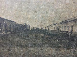 Nacimiento de la avenida Sarmiento, en una estampa fotográfica de 1889, cuando gobernaba Chivilcoy, Don Carlos Ceballos, como intendente municipal.