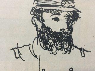 Dibujo de Don Carlos Ceballos (1842- 1895).