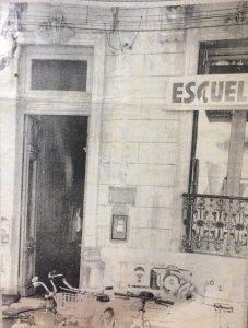 Antigua sede de la Escuela Superior de Artes Visuales, de nuestra ciudad, en la avenida Soarez.