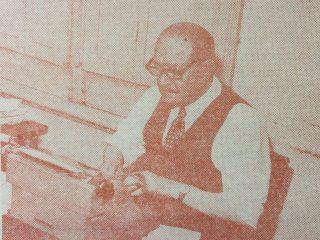 El recuerdo del destacado e inolvidable periodista, del diario «La Razón», Don José Juan Demaría. Fallecido en 1988, dejó gratos y queridos recuerdos en el historial del matutino.