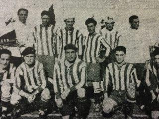 Primera selección chivilcoyana de fútbol, del año 1926.