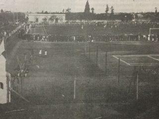 El querido y añorado estadio de la Federación, que se había inaugurado, el 9 de julio 1926. Se clausuró y fue demolido, a mediados del año 1987. Un inolvidable recuerdo, para todos los chivilcoyanos…