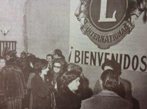 Inauguración de la sede del Club de Leones de Chivilcoy, fundado el 22 de octubre de 1964.