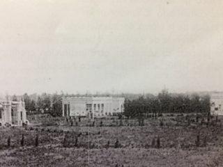 El actual Cementerio Municipal, en sus primeros años (Segunda mitad de la década de 1890).
