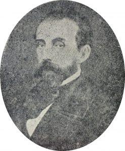 Don Manuel Antonio del Carmen Villarino (1815-1868), autor de la iniciativa de bautismo, de las distintas plazas de Chivilcoy.