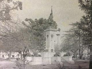 Plaza Colón. El monumento al descubridor de América, el almirante Cristóbal Colón, se inauguró el 12 de octubre de 1892, y fue uno de los primeros, erigidos en el continente americano.