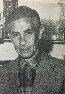 """Francisco Alberto Castagnino (1924-2007), fundador y gran organizador de la """"Casa de los Museos"""", inaugurada el 5 de noviembre de 1983. Hijo del ilustre Don Francisco Anselmo Castagnino, fue director del Museo Histórico Municipal, creado por su padre, en 1943, desde 1968 hasta 1976, y entre 1981 y 1993."""