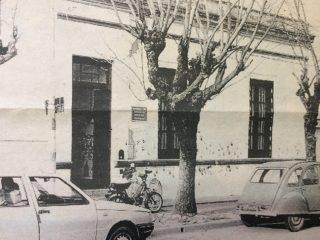 Primera sede, de la Escuela de Educación Estética, en la calle Vicente López Nº 181.