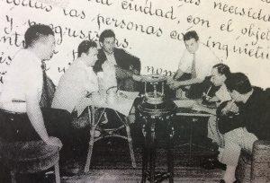 """Fundación del Teatro Independiente del Oeste """"El Chasqui"""", el 3 de noviembre de 1959."""