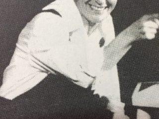La excelente actriz y directora teatral, Elena Boggan, de prolongada y rica trayectoria, en las filas del teatro «El Chasqui». Se la declaró «Ciudadana Ilustre», de Chivilcoy, el 22 de octubre de 2014.