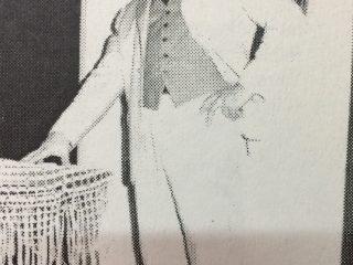 El actor, director teatral y odontólogo, Dr. Juan José Vivanco, notable intérprete, que atravesó los escenarios, de la Agrupación Artística Chivilcoy, y de El Chasqui.