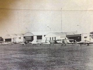Imagen del Aero Club Chivilcoy, importante institución chivilcoyana, fundadael 6 de diciembre de 1954.