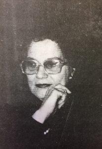 La poetiza, escritora y docente, Ángela Francisca Colombo, nacida en San Martín, el 10 de julio de 1931, y y fallecida en Buenos Aires, el 6 de diciembre de 1993.