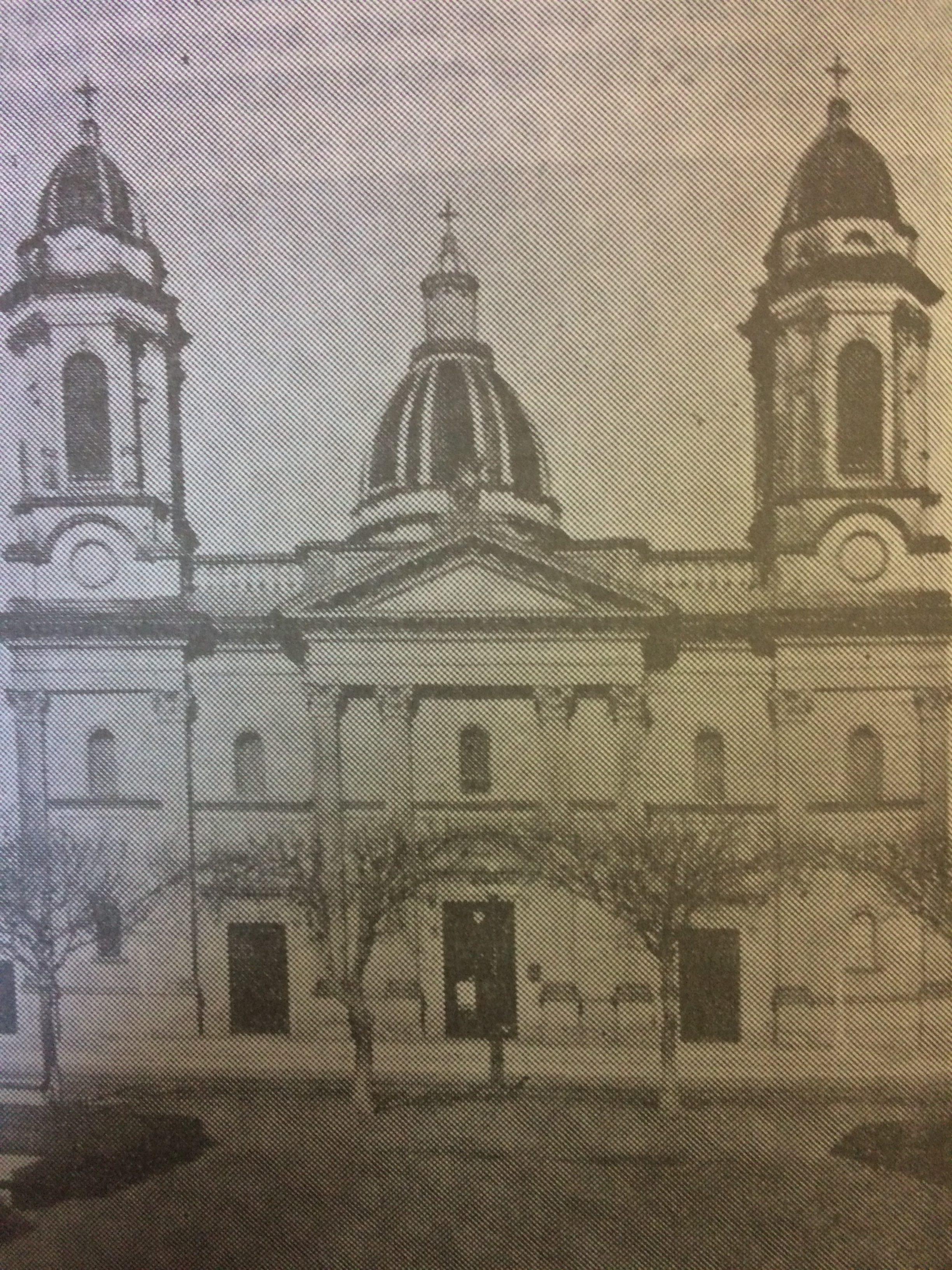 El Templo Mayor, de Nuestra Señora del Rosario, bendecido e inaugurado, el 24 de mayo de 1895.