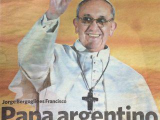 El Papa Francisco, cardenal Jorge Mario Bergoglio, elegido como Sumo Pontífice de la Iglesia Católica, el Miércoles 13 de marzo de 2013.