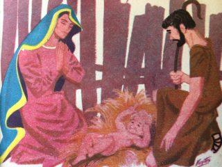 Ilustraciones alusivas a la Navidad, publicadas en las páginas, de distintos libros de lectura, de escuela primaria, correspondientes a las décadas de 1940 y 1950.