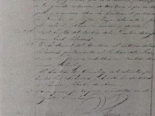 Documento oficial, del decreto Nº 1844, del domingo 28 de diciembre de 1845, firmado por el gobernador de la provincia de Buenos Aires, brigadier general Don Juan Manuel de Rosas, creando el partido bonaerense de Chivilcoy.