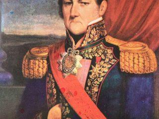 Brigadier General Don Juan Manuel de Rosas (1793-1877), creador del partido de Chivilcoy, el 28 de diciembre de 1845, cuando ejercía el cargo de gobernador, de la provincia de Buenos Aires.